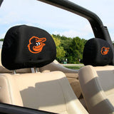 Baltimore Orioles 2-Pack Head Rest Covers