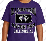 Im a PENNSYLVANIA Ravens Fan mens