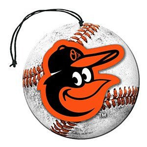 Baltimore Orioles Air Freshener (3 Pack)