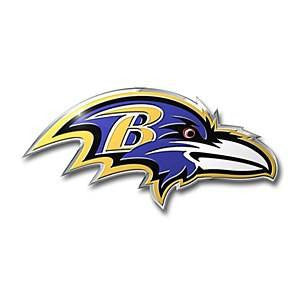 Baltimore Ravens Color Auto Emblem