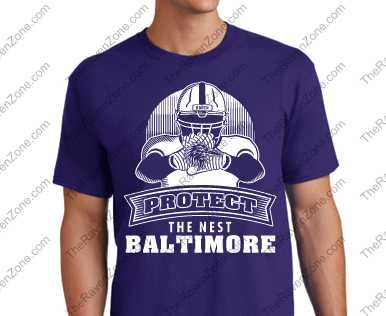 Protect The Nest Ravens Tshirt
