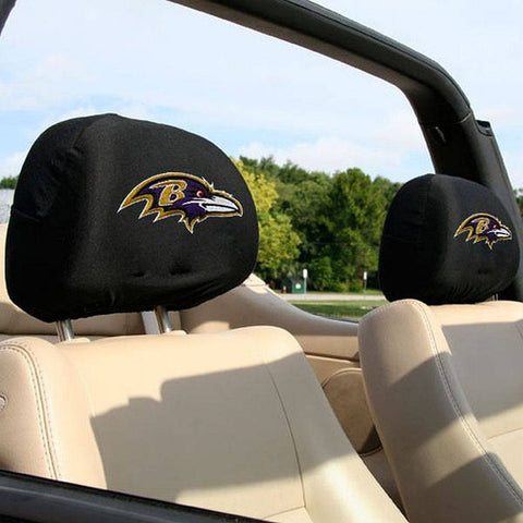 Baltimore Ravens 2-Pack Headrest Covers