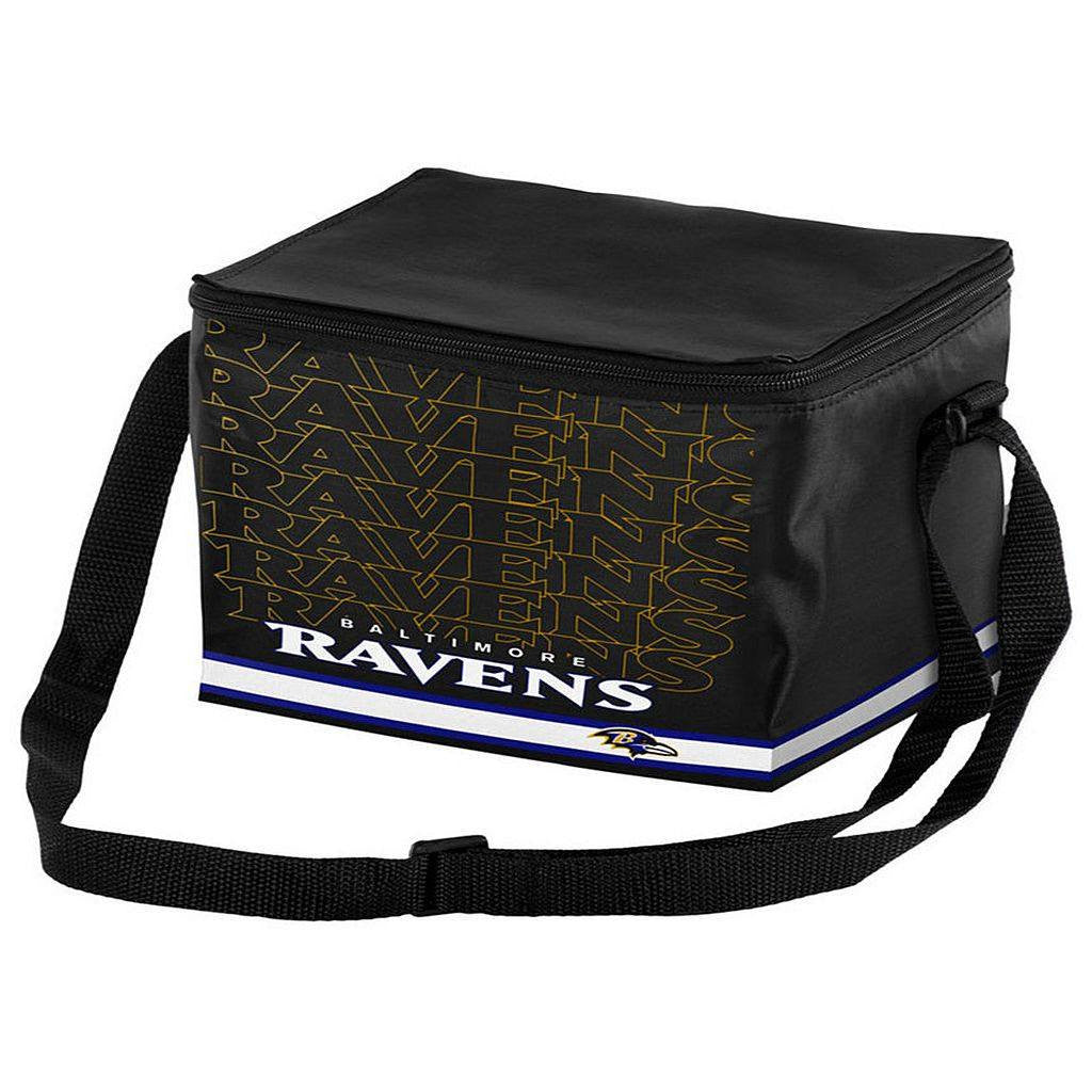 Baltimore Ravens 6pk Lunch Cooler