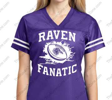 Ravens Fanatic Sport-Tek Ladies Jersey