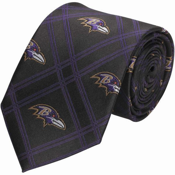 Baltimore Ravens Woven Poly Tie