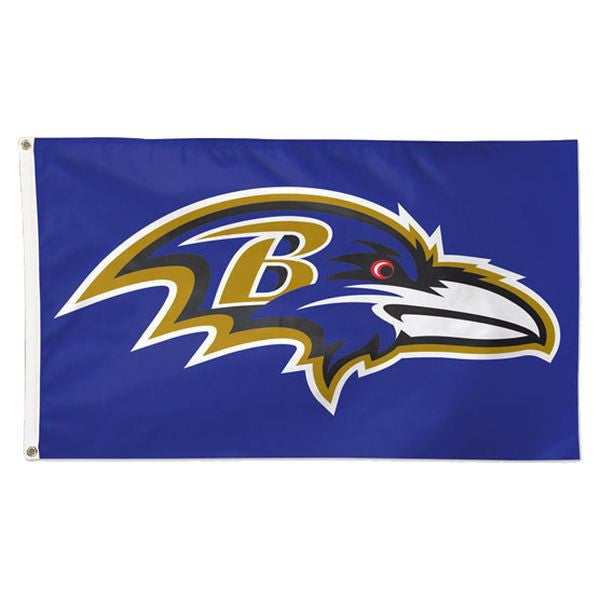 Baltimore Ravens Deluxe 3' x 5' Flag