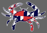 Maryland Crab Vinyl Decals Stickers