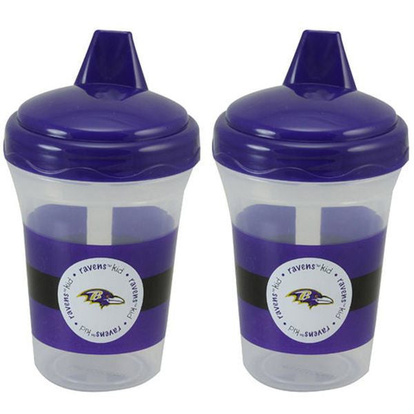 Baltimore Ravens 2-Pack 5oz. Baby Sippy Cups