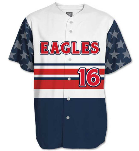 Sublimated Baseball/Softball Jersey #7