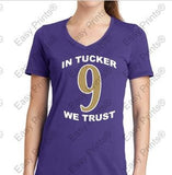 tIn Tucker We Trust Purple Ravens Gear
