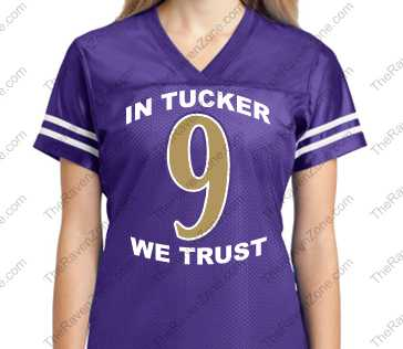 Custom In Tucker We Trust Color Rush Sport-Tek Ladies Jersey