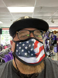 Stars & Stripes Face Mask - Polyester