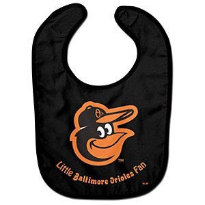 Baltimore Orioles Team Color All Pro Baby Bib