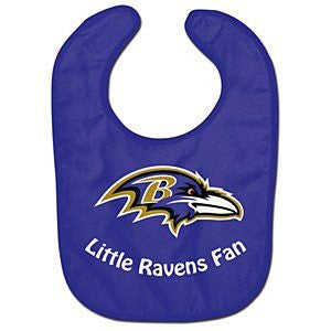 Baltimore Ravens Team Color All Pro Baby Bib