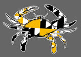 Maryland Crab Vinyl Stickers Many Colors