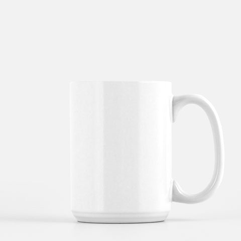 15 oz White Mug - Design TBD