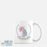 Unicorn Crest - Make Your Own Magic - 11 oz White Mug