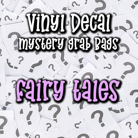 Fairy Tales - Vinyl Decal Grab Bag, over 50% off retail