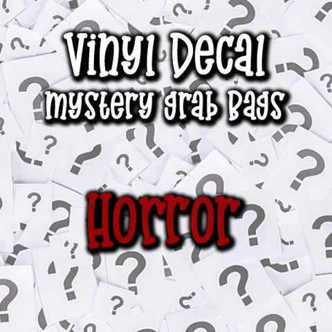 Horror - Vinyl Decal Grab Bag, over 50% off retail