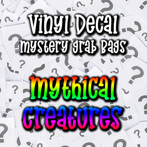 Mythical Creatures Vinyl Decal Grab Bag, over 50% off retail