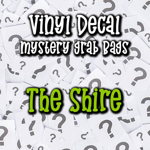 The Shire - Vinyl Decal Grab Bag, over 50% off retail
