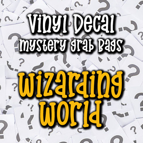 Wizarding World Vinyl Decal Grab Bag, over 50% off retail