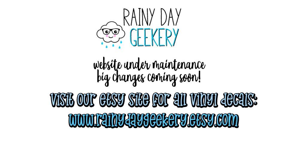 Visit Rainy Day Geekery on Etsy
