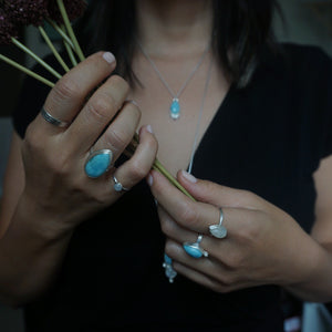 Yvonne Dao Dainty Rainbow Moonstone Ring