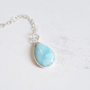 Yvonne Dao Atlantis Simple Larimar Necklace