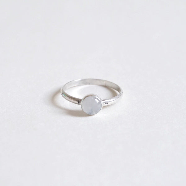 Yvonne Dao Cosmic Rainbow Moonstone Stacker Ring