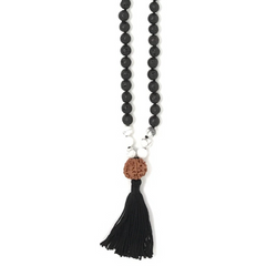 Courage Tassel Mala Necklace