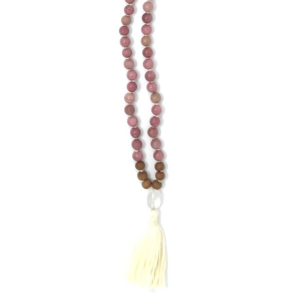 Emotional Healing Tassel Mala Necklace