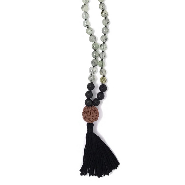 Follow Your Heart Tassel Mala Necklace
