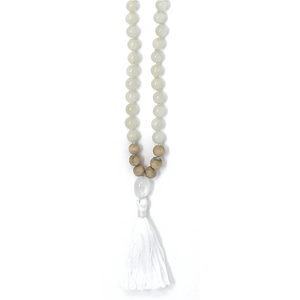 Goddess Energy Tassel Mala Necklace