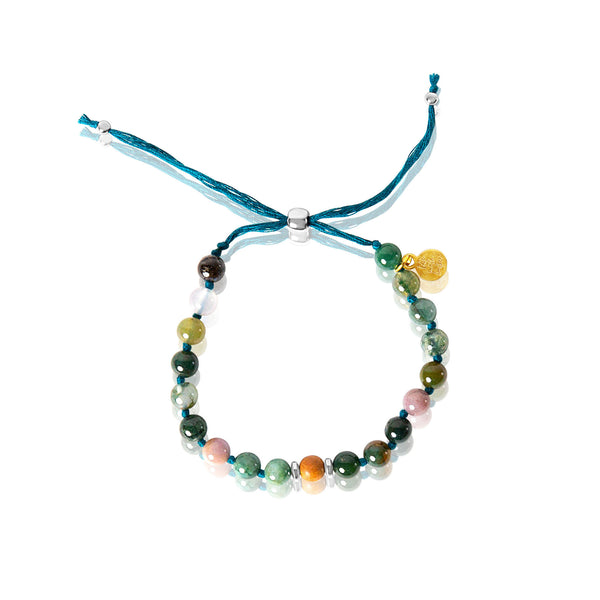 Heart Chakra Adjustable Mala Bracelet
