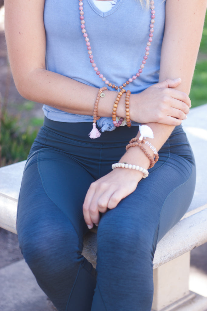 Emotional Healing Stretch Mala Bracelet