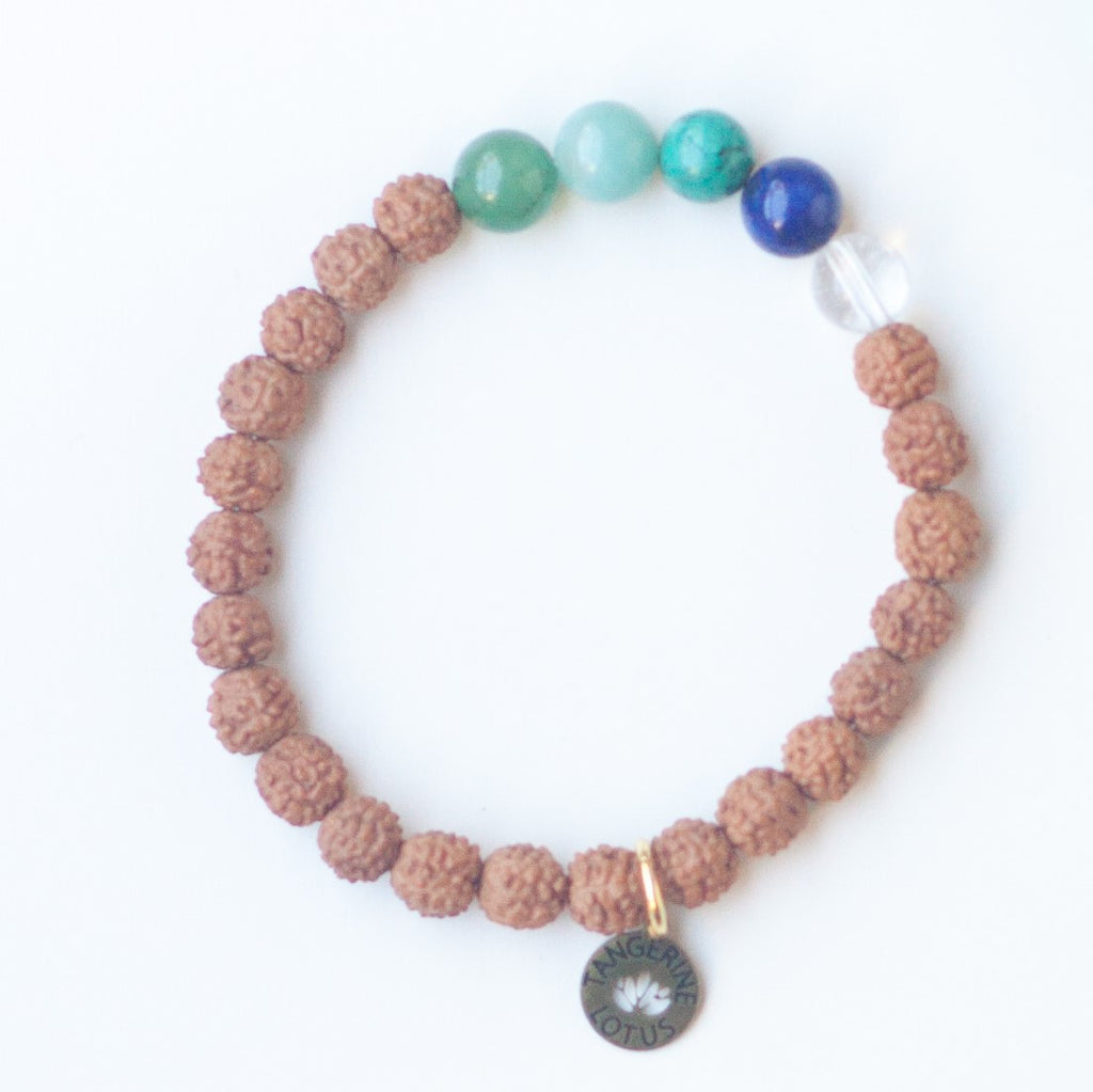 Mermaid Stretch Mala Bracelet