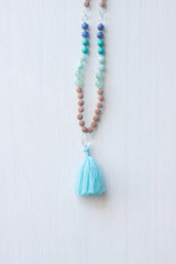 Mermaid Tassel Mala Necklace