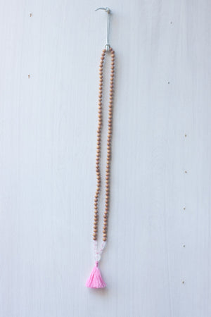 Compassion Tassel Mala Necklace