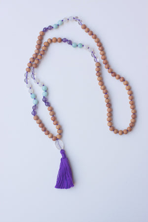 Mindfulness Tassel Mala Necklace