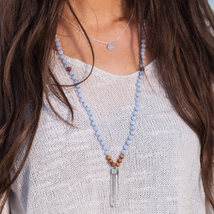 Serenity Signature Crystal Mala Necklace