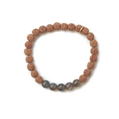 Intuition Stretch Mala Bracelet