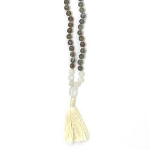 Intuition Tassel Mala Necklace