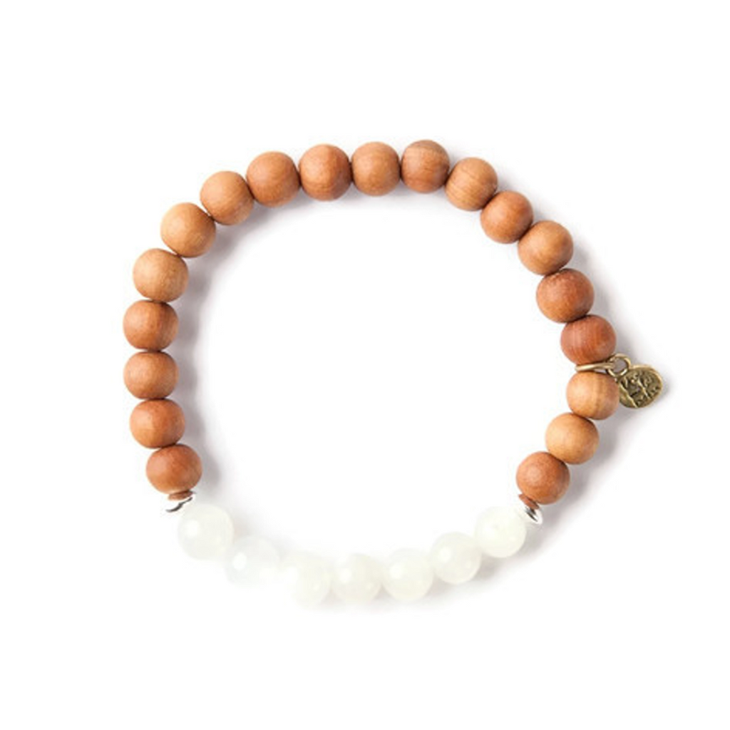 Moon Child Signature Stretch Mala Bracelet