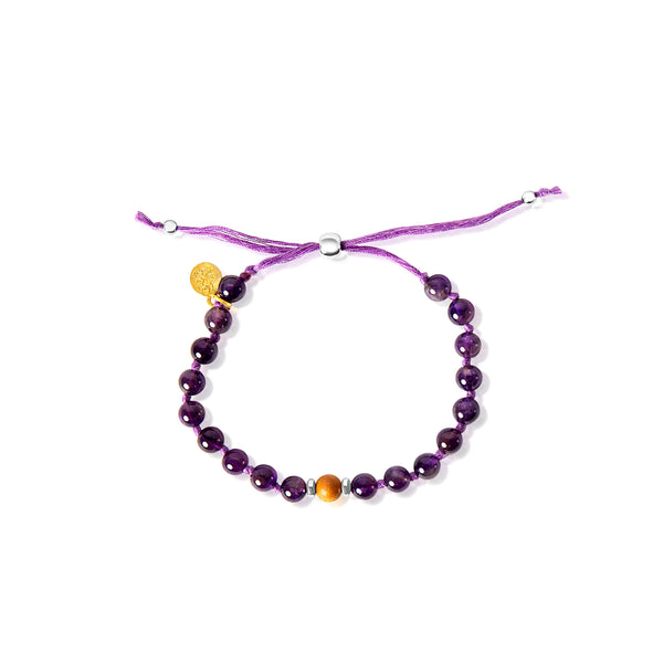 Third Eye Chakra Adjustable Mala Bracelet