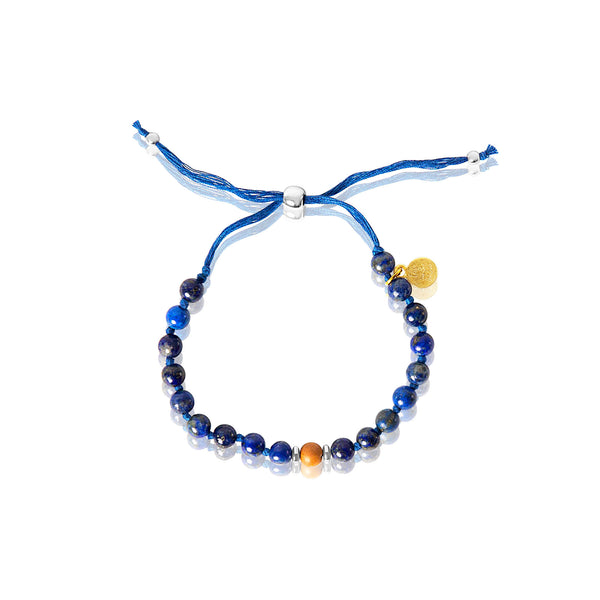 Throat Chakra Adjustable Mala Bracelet