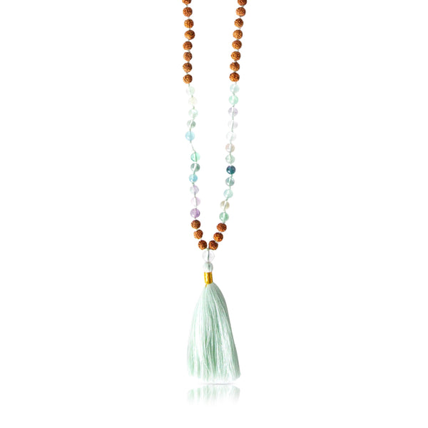 Crown Chakra Mala Necklace