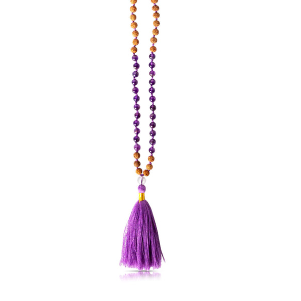 Third Eye Chakra Mala Necklace