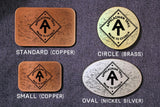 Appalachain Trail HIKER Belt Buckle-Metal Some Art