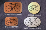 Bicycle Bike Belt Buckle-Metal Some Art